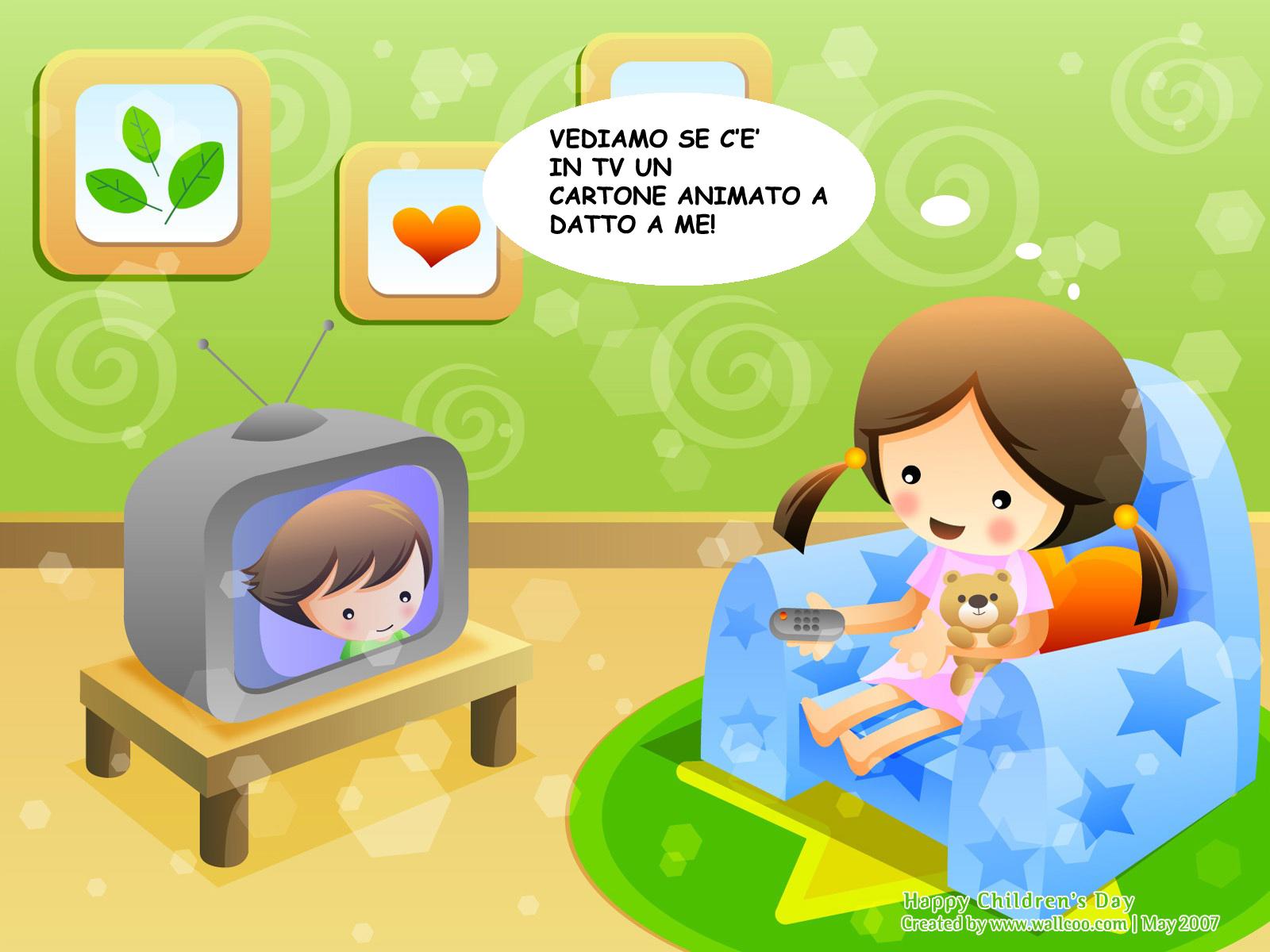 Fumetti cartoni animati per educare